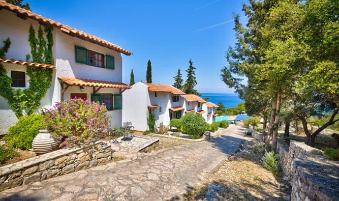 All Glyfada Beach Family Villas In Row Located