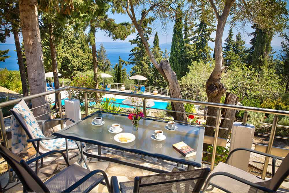 Balcony With Sea View Ionian Villas