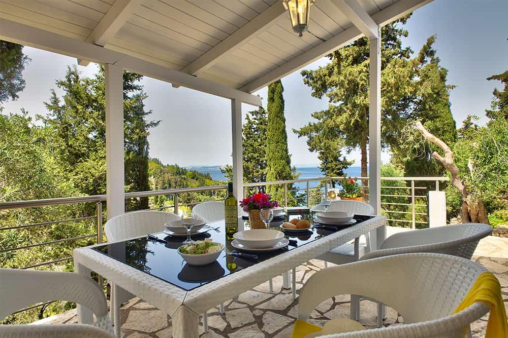 Balcony With Sea View Glyfada House