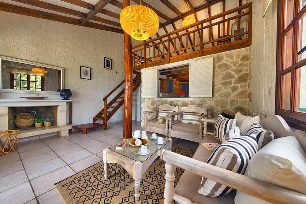 Living Room Area Glyfada House