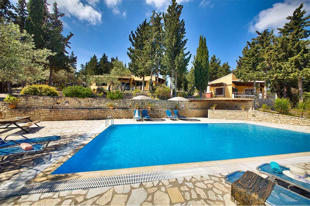 Location Ionian Villas