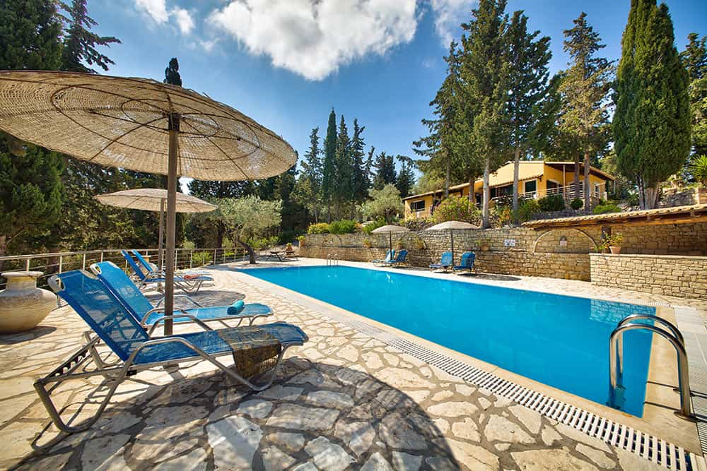 Location Of Ionian Villas With Swimming Pool