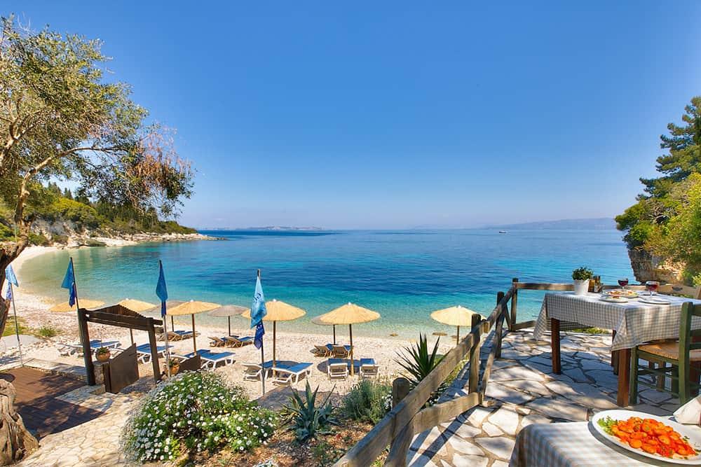 Greek Taverna At The Beach