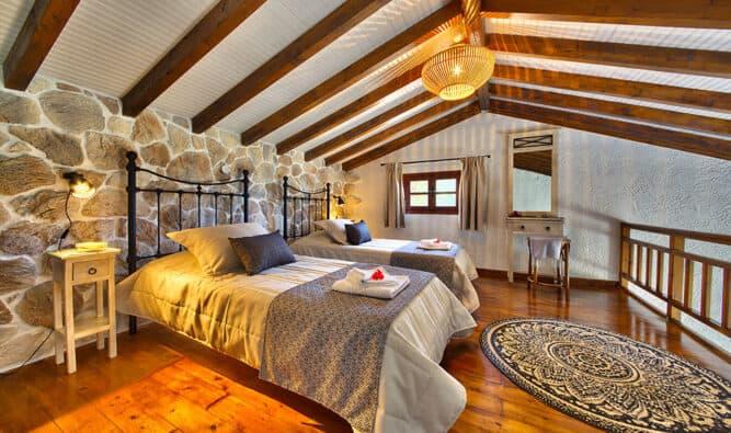 Twin Bedroom Glyfada House